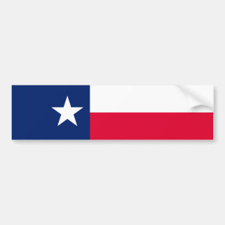 Diseño de la bandera del estado de Tejas Pegatina Para Auto