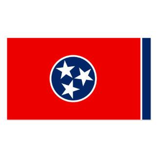 Diseño de la bandera del estado de Tennessee Tarjetas De Visita