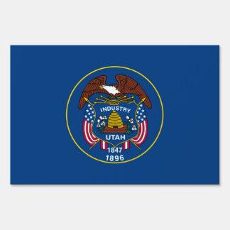 Diseño de la bandera del estado de Utah Letrero