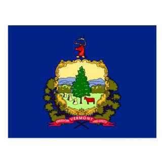 Diseño de la bandera del estado de Vermont Postales