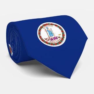 Diseño de la bandera del estado de Virginia Corbatas