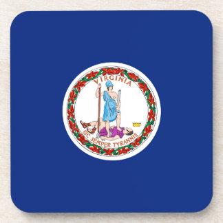 Diseño de la bandera del estado de Virginia Posavasos De Bebida