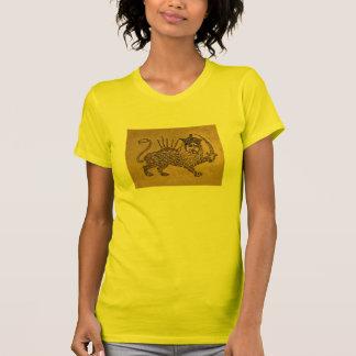 Diseño de la bandera del león playera