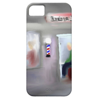 Diseño de la barbería iPhone 5 Case-Mate cobertura