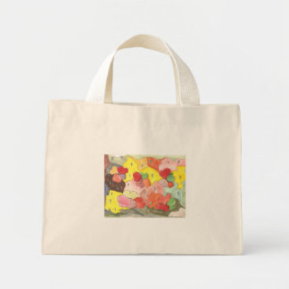 """Diseño de la bella arte """"que llueve corazones"""" en bolsas de mano"""