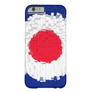 Diseño de la blanco de la MOD con el efecto Funda De iPhone 6 Barely There