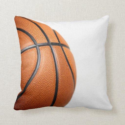 Diseño de la bola del baloncesto almohada