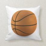 Diseño de la bola del baloncesto cojines