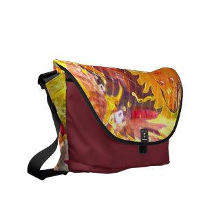 Diseño de la bolsa de mensajero del mago del estal bolsas de mensajería