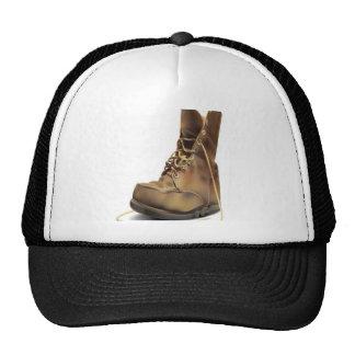 Diseño de la bota del ejército gorra
