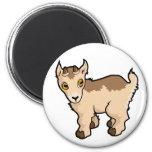 Diseño de la cabra imán para frigorifico