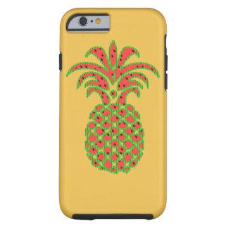 diseño de la caja de la manzana iphone6 de la piña funda para iPhone 6 tough