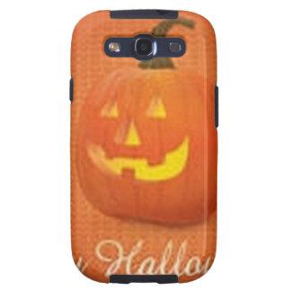 Diseño de la calabaza de Halloween Samsung Galaxy S3 Cárcasas
