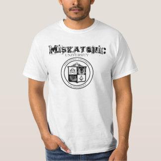 Diseño de la camisa de la universidad de Miskatoni