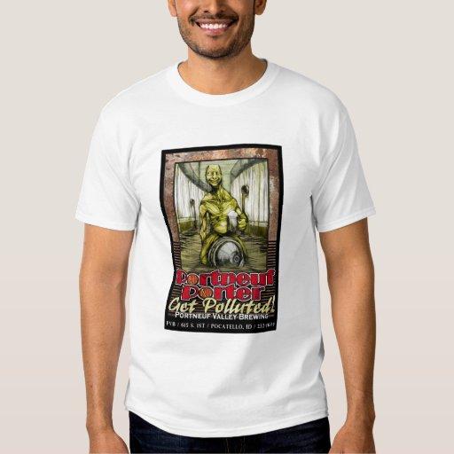 Diseño de la camisa del portero de Portneuf