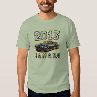 Diseño de la camiseta de Camaro del fuego Polera