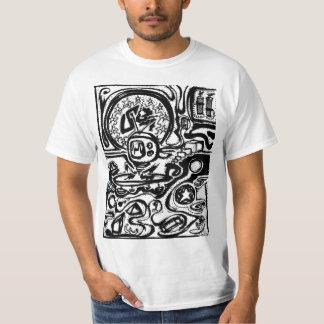 Diseño de la camiseta de la bomba de relojería por