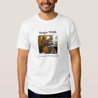 Diseño de la camiseta de la guitarra de Sergio Playeras