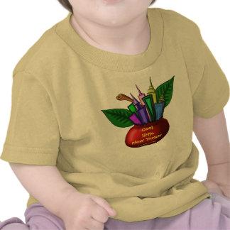 Diseño de la camiseta del bebé de NYC
