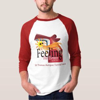 Diseño de la camiseta del grupo de la brisa camisas