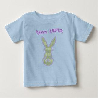 Diseño de la camiseta del niño feliz de Pascua Remera