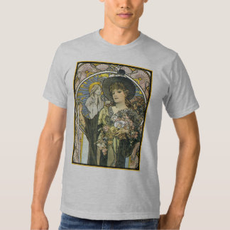 Diseño de la camiseta del vintage de los hombres - playera