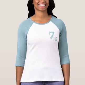 diseño de la camiseta number-76