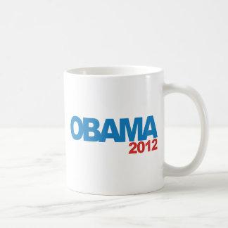 Diseño de la campaña de OBAMA 2012 Taza De Café
