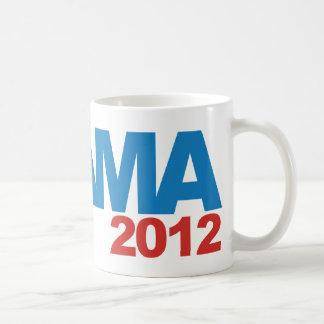 Diseño de la campaña de OBAMA 2012 Taza