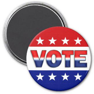 Diseño de la campaña electoral del voto imán de nevera