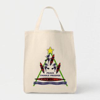 Diseño de la canoa del kajak de la paleta del día bolsas