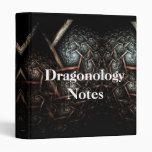 Diseño de la carpeta de las NOTAS de DRAGONOLOGY