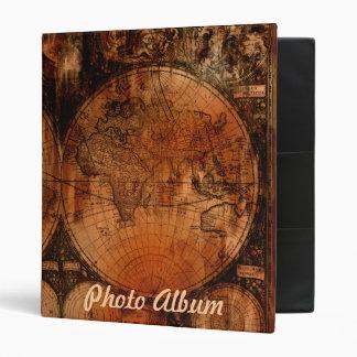 Diseño de la carpeta del mapa de Viejo Mundo del