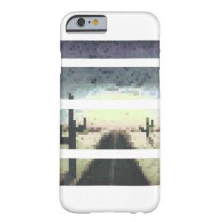 Diseño de la carretera del desierto para iPhone6 Funda Para iPhone 6 Barely There