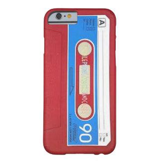 Diseño de la cinta de casete funda barely there iPhone 6