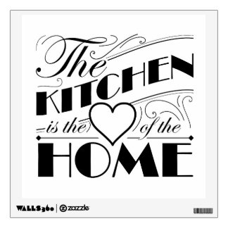 Diseño de la cita de la cocina vinilo adhesivo