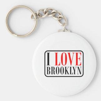 Diseño de la ciudad de Brooklyn, Alabama Llavero Redondo Tipo Pin