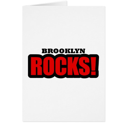 Diseño de la ciudad de Brooklyn, Alabama Felicitacion