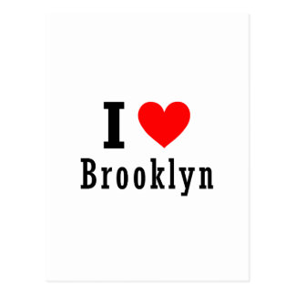 Diseño de la ciudad de Brooklyn Alabama Tarjeta Postal