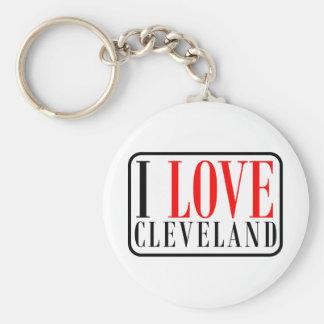 Diseño de la ciudad de Cleveland, Alabama Llavero Personalizado
