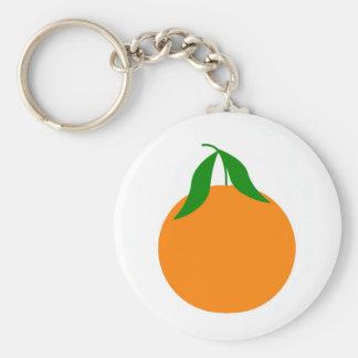 diseño de la clementina llavero redondo tipo pin