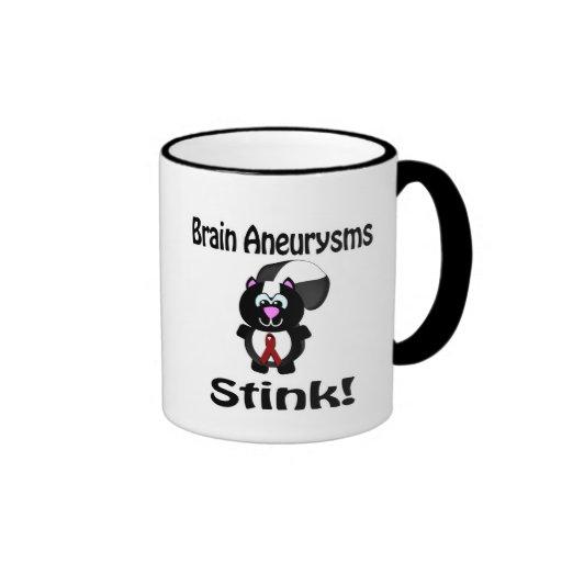 Diseño de la conciencia de la mofeta del hedor de  taza de café