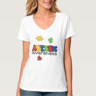 Diseño de la conciencia del autismo playeras