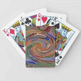 Diseño de la conciencia del ordenador barajas de cartas