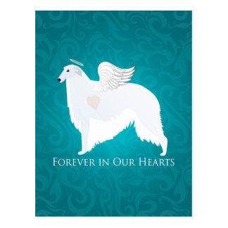 Diseño de la condolencia de la pérdida del mascota postales