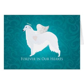 Diseño de la condolencia de la pérdida del mascota tarjeta de felicitación