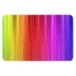 Diseño de la cortina del arco iris iman rectangular