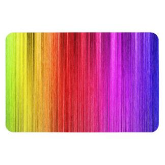 Diseño de la cortina del arco iris imán de vinilo