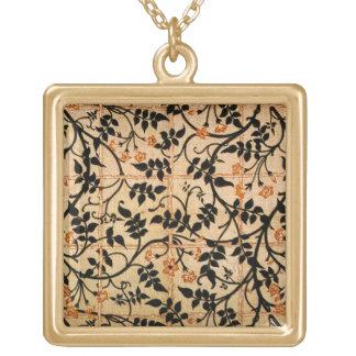 Diseño de la cortina del rastro del jazmín, 1868-7 collar dorado