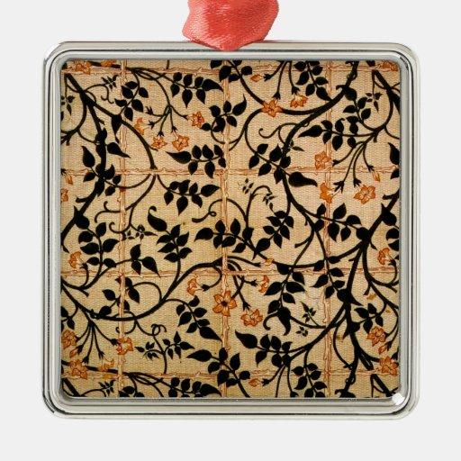 Diseño de la cortina del rastro del jazmín, 1868-7 ornamentos de reyes